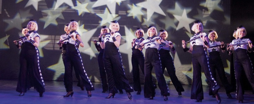 Bad Girls The Musical. Book by Maureen Chadwick & Ann McManus. Music & Lyrics by Kath Gotts. Production Photo © Catherine Ashmore from the West End production at the Garrick Theatre, 2007. Directed by Maggie Norris.